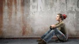 bigstock-Seated-woman-wearing-alternati-12411323